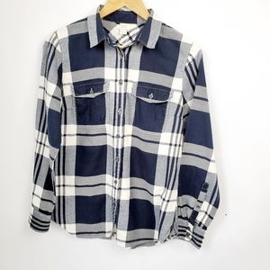 J Crew Soft Flannel Womens Shirt Size Small